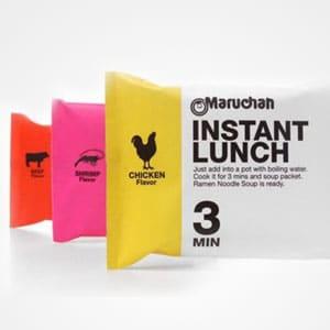 Instant Noodle Bags