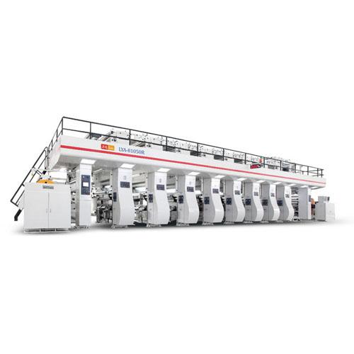 High Speed Gravure Printing Machine