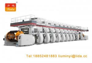 Gravure Printing Machine Press