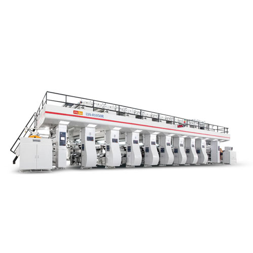 High Speed Reel Gravure Printing Machine