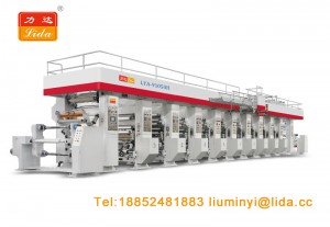 Automatic Web Gravure Printing Machine