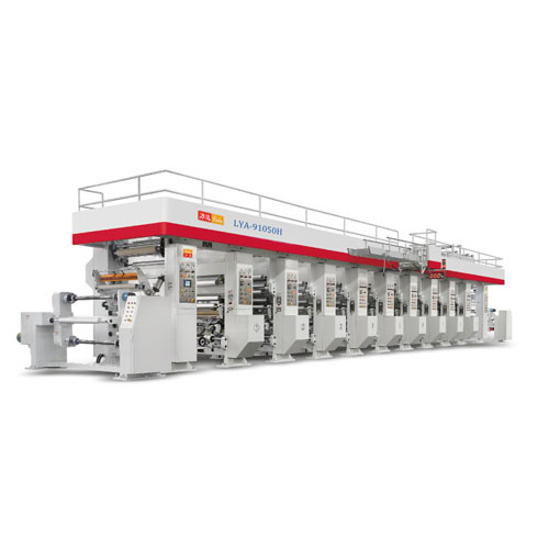 Automatic Web Gravure Printing Machine