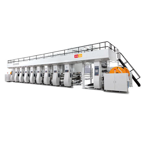 Electronic Shaft Ink Gravure Printing Machine