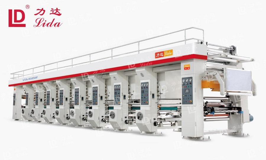 Plastic Film Gravure Printing Machine