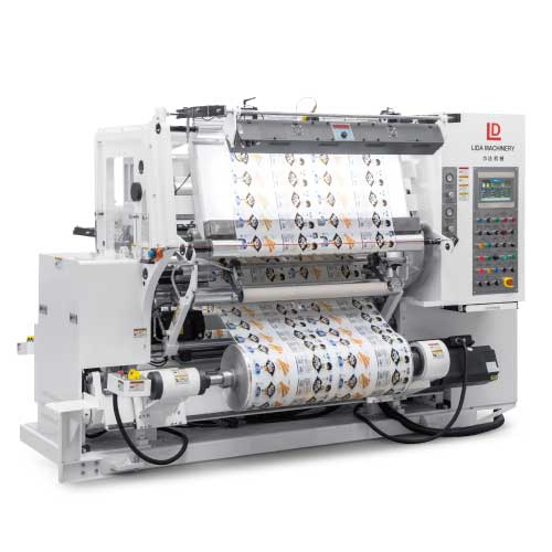 LJF-R Series Inspection Rewinding Machine