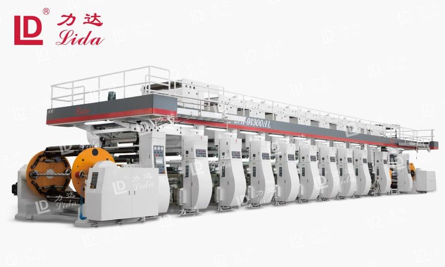 LYA-AL Series Rotogravure Printing Machine