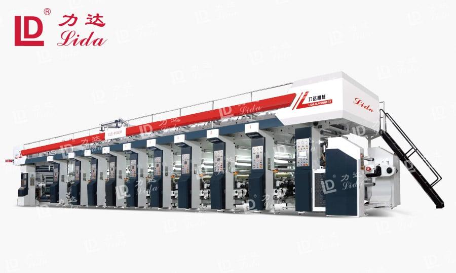 LYA-M-ELS Series Rotogravure Printing Machine