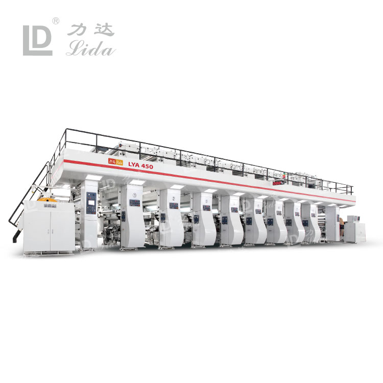 LYA 450 Series Rotogravure Printing Machine