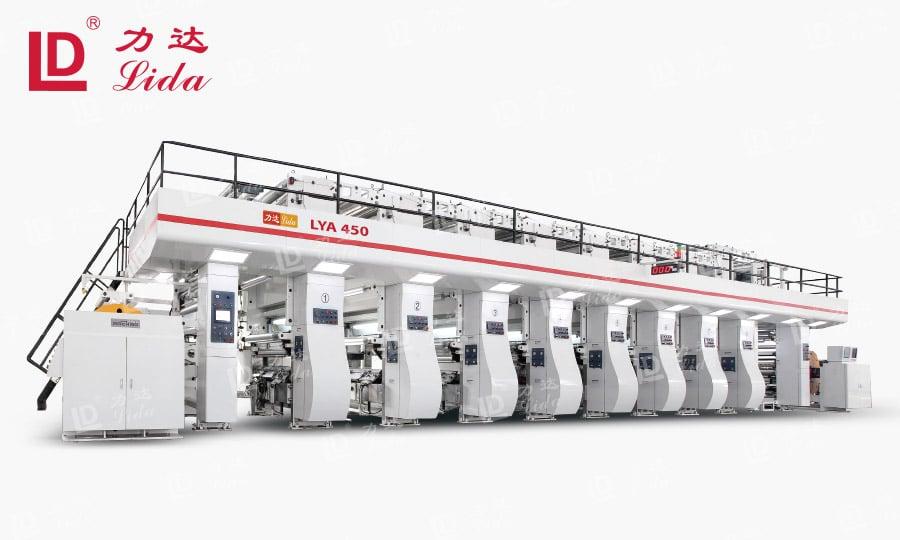 8 Colour Rotogravure Printing Machine
