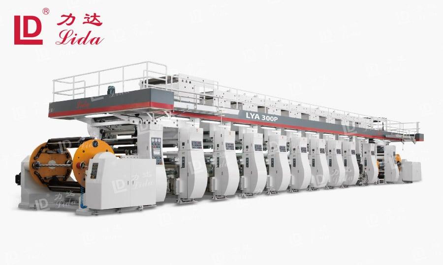 PVC PE PET BOPP Film Rotogravure Printing Machine