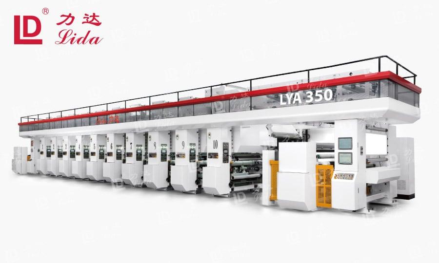 Plastic Bag Rotogravure Printing Machine