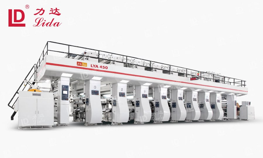 Plastic Packaging Printing Machine